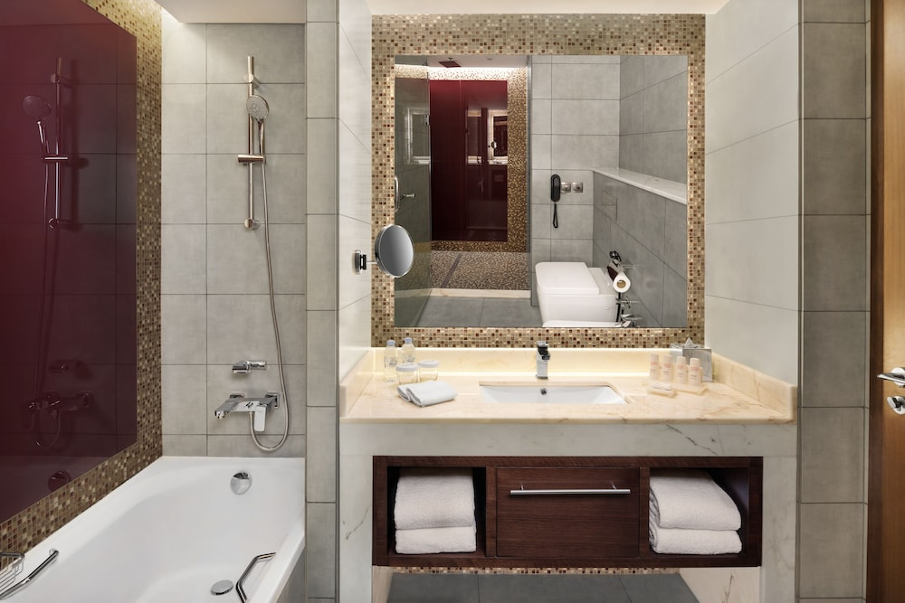 Bathroom Sink, Radisson Blu Hotel Dubai Waterfront