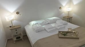 Memory foam beds, in-room safe, iron/ironing board