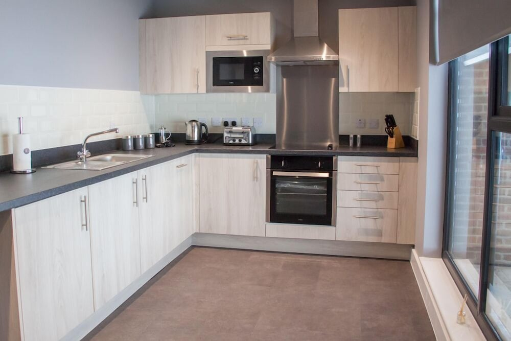 Private Kitchen, Dream Apartments Quayside