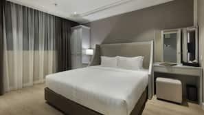 1 間臥室、高級寢具、迷你吧贈品、房內夾萬