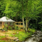 Lake Nantahala-Smoky Mountain Yurts