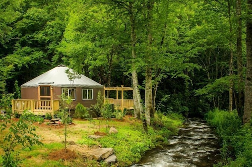 Lake Nantahala-Smoky Mountain Yurts in Topton | Hotel Rates ... on cherokee cottage house plan, westbrook's cottage house plan, sugarloaf cottage house plan, calabash cottage house plan, meadow lane cottage house plan, mill spring cottage house plan, hot springs cottage house plan, holly springs house plan, marina village floor plan, tranquility house plan, gaston house plan, first floor house plan, full basement lake house plan, lake lure cottage house plan, ranch style bungalow house plan, achasta house plan,