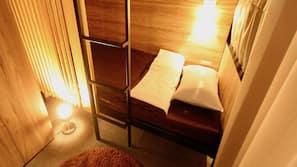 20 bedrooms, down comforters, laptop workspace, blackout drapes