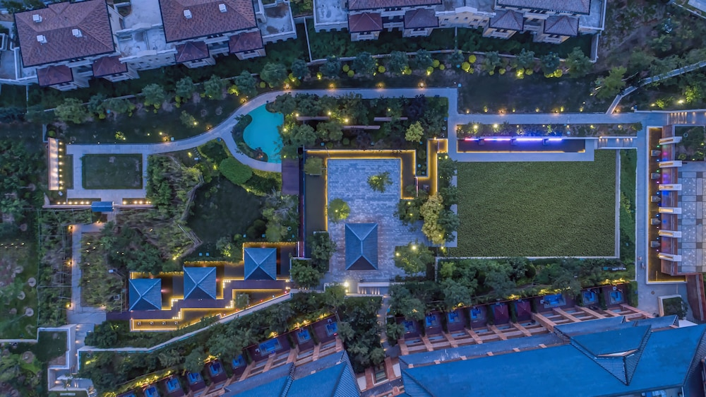 Aerial View, Grand Bay Hotel Beijing