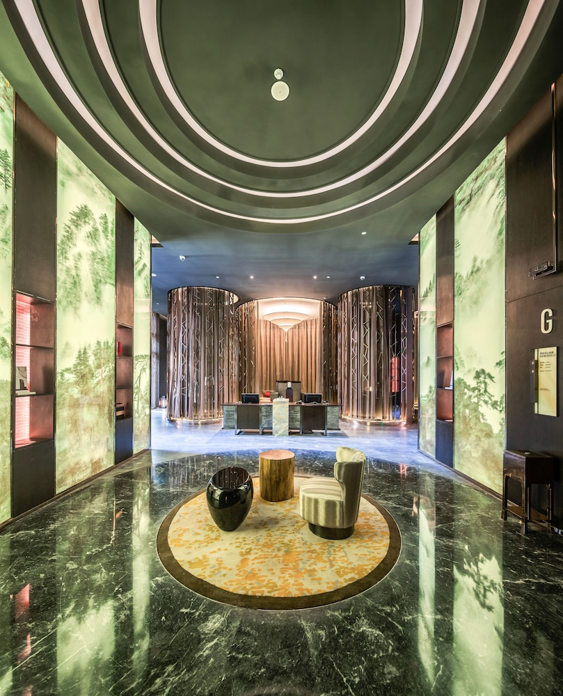 Spa Reception, Grand Bay Hotel Beijing