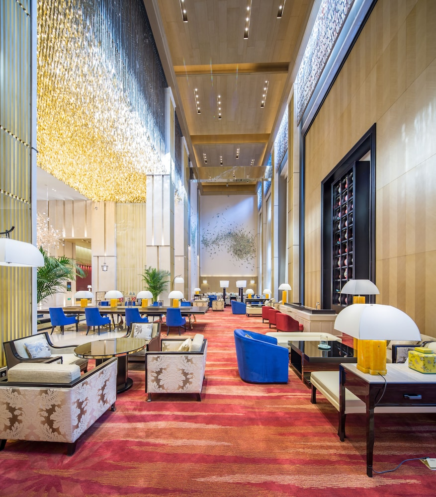 Lounge, Grand Bay Hotel Beijing