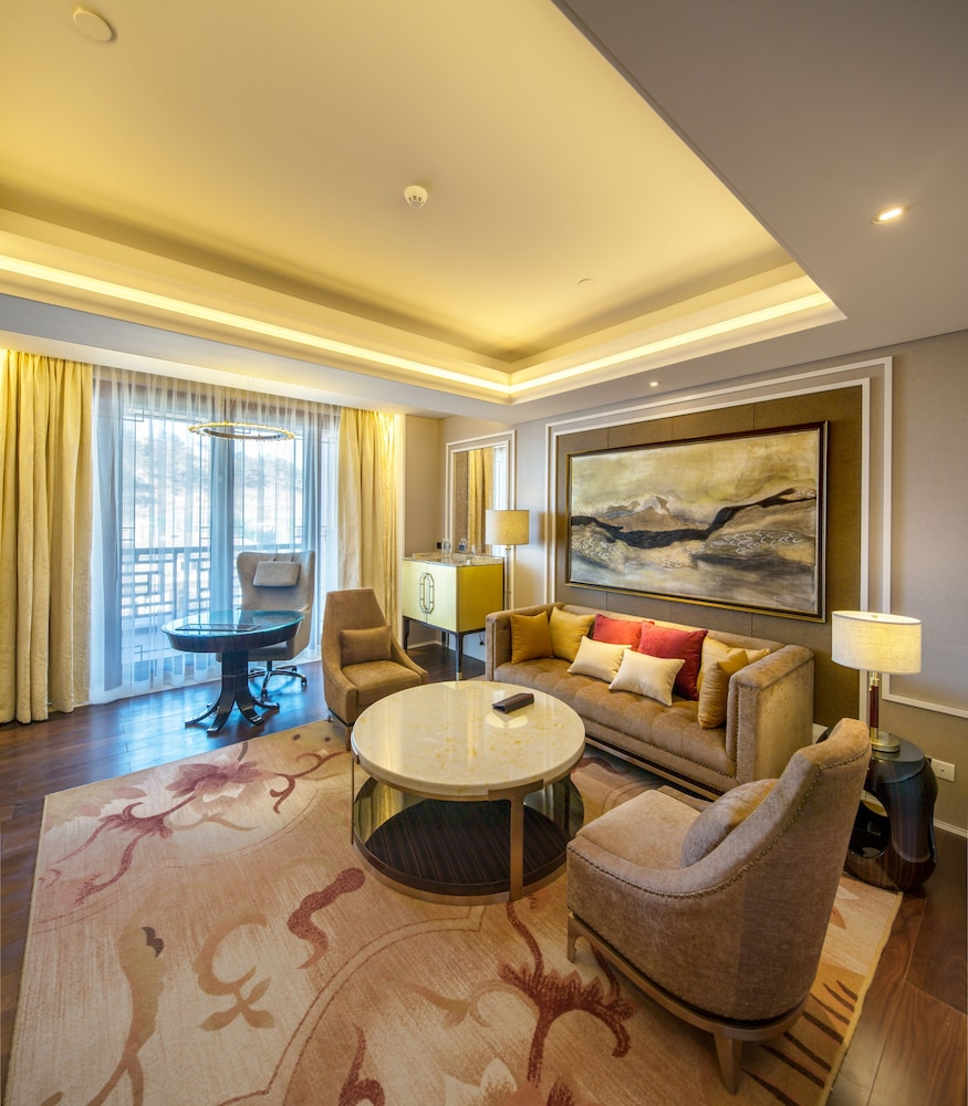 Living Room, Grand Bay Hotel Beijing
