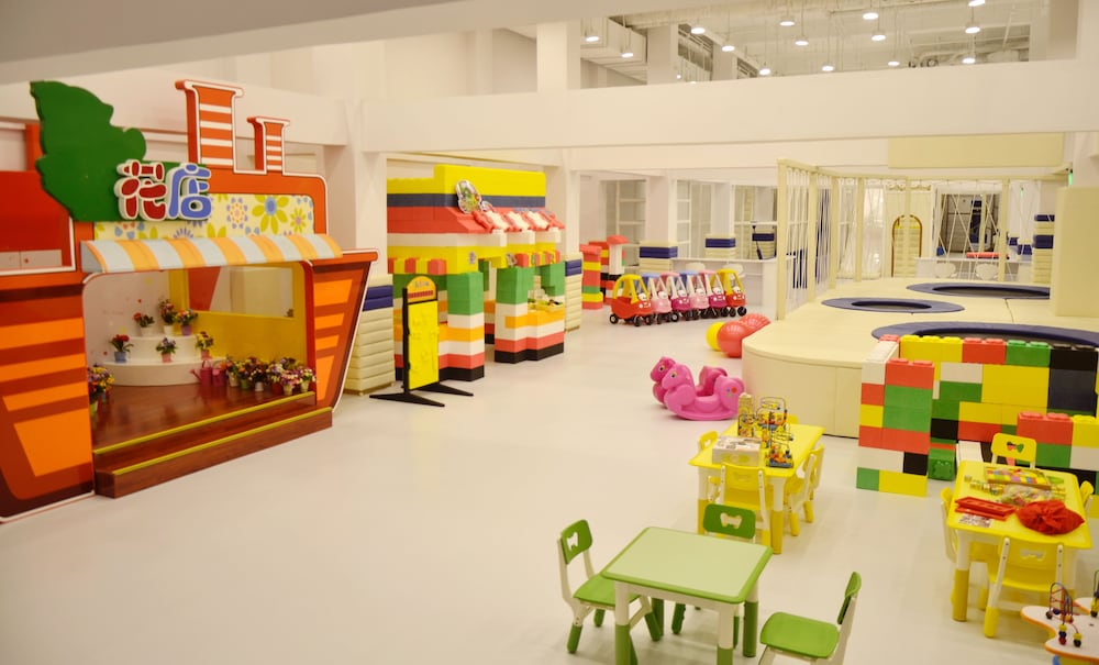 Children's Play Area - Indoor, Grand Bay Hotel Beijing