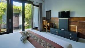 1 slaapkamer, een minibar, individueel gedecoreerd