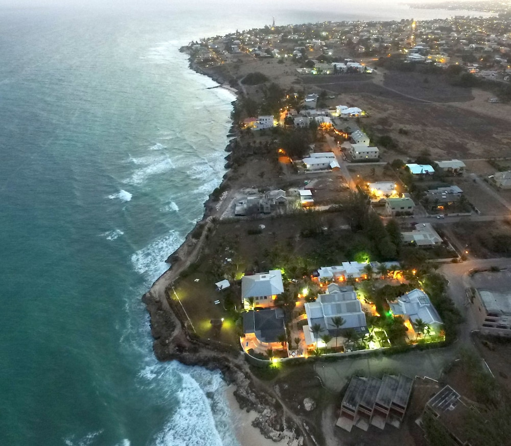Aerial View, Inchcape Seaside Villas