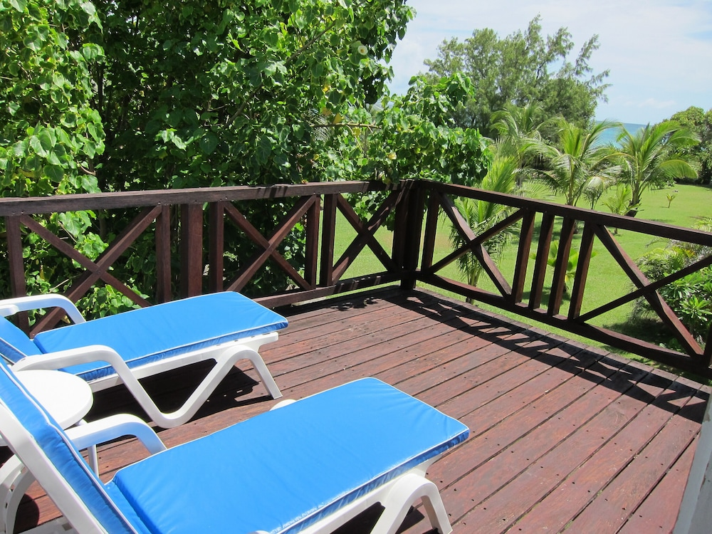 Balcony, Inchcape Seaside Villas