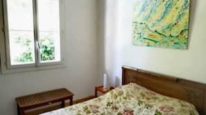 1 chambre, fer et planche à repasser, Wi-Fi gratuit