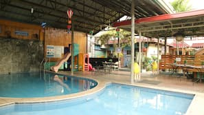 Indoor pool, 2 outdoor pools, cabanas (surcharge), sun loungers