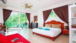 7 bedrooms, minibar, in-room safe, iron/ironing board