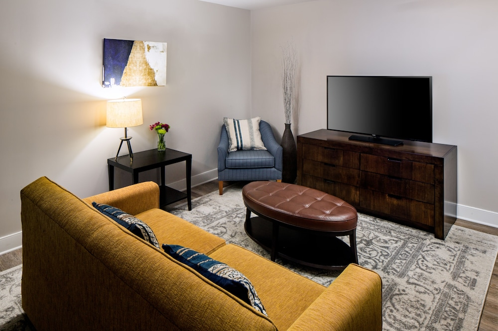 Living Area, Watt Hotel Rahway, Tapestry Collection by Hilton