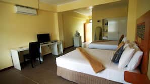 In-room safe, WiFi, bed sheets