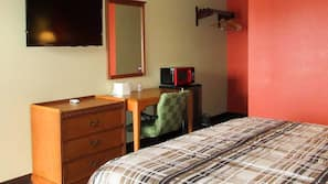 Desk, cribs/infant beds, rollaway beds, free WiFi