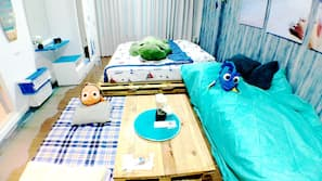 1 ห้องนอน, โต๊ะทำงาน, ผ้าม่านกันแสง, บริการ WiFi ฟรี