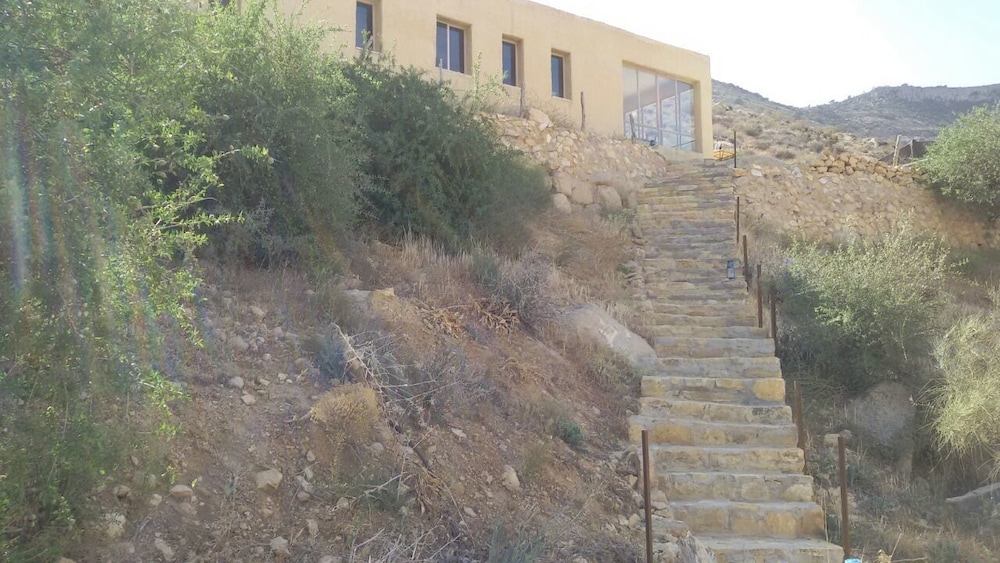 Front of Property, Wadi Dana Eco Camp