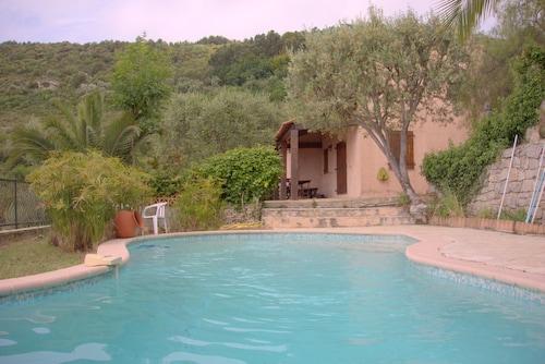 Villa Toscane vue mer piscine