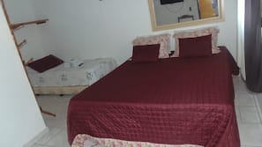 Frigobar, camas extras/dobráveis (sobretaxa), Wi-Fi de cortesia