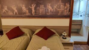 3 bedrooms, Frette Italian sheets, premium bedding, desk