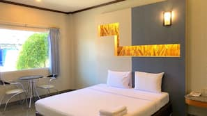 ผ้าม่านกันแสง, ห้องเก็บเสียง, เตียงเสริม/เปล, Wi-Fi ฟรี