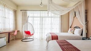 窗簾、隔音、免費 Wi-Fi