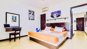 1 dormitorio, decoración individual, escritorio