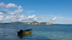 Beach nearby, scuba diving