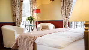 1 Schlafzimmer, Allergikerbettwaren, Zimmersafe, Schreibtisch