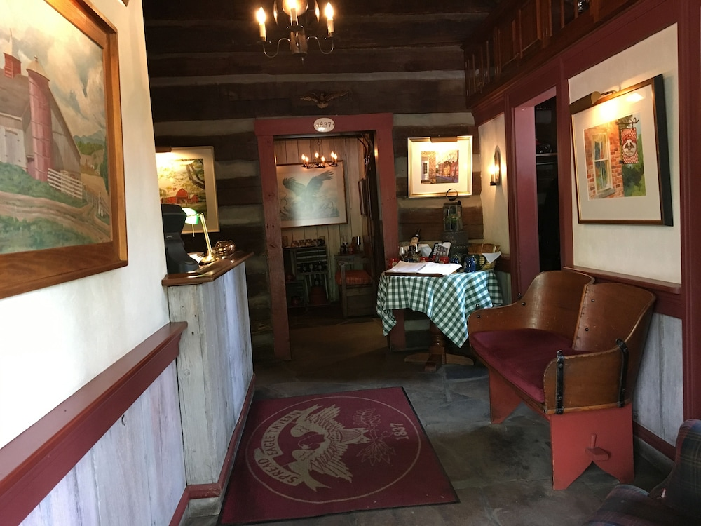Interior Entrance, Spread Eagle Tavern and Inn