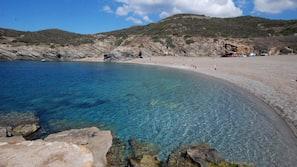 Una spiaggia nelle vicinanze