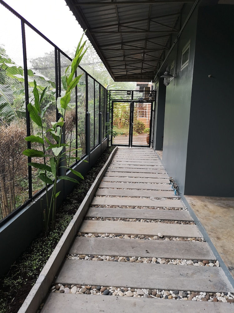 Terrace/Patio, Siri Guesthouse at Suratthani