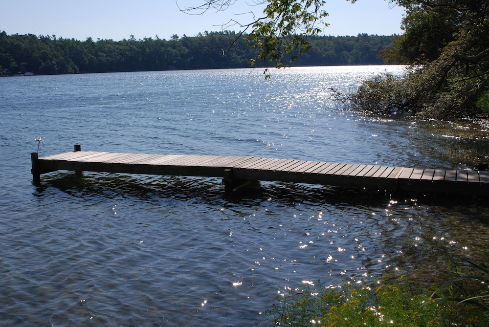 Pool, Waterfront Cabin on Long Pond