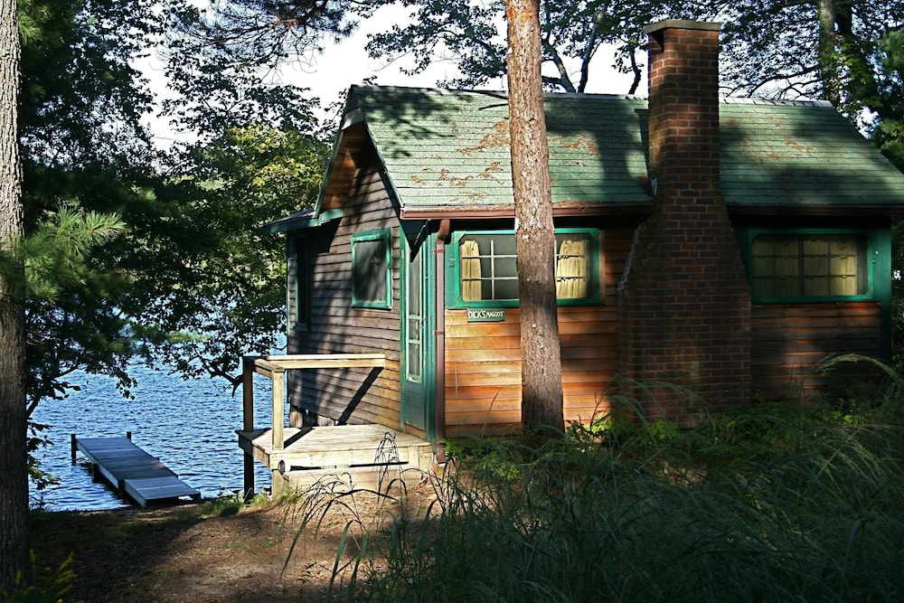 Exterior, Waterfront Cabin on Long Pond
