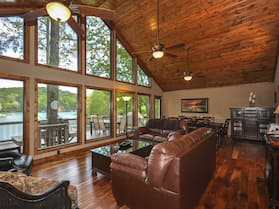 Lake Front Home, Theater Room, Dock, Swim-fish-boat, Mountains, 5 Star