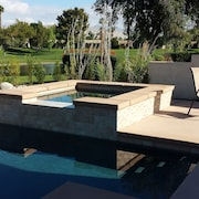 3 Bed Private Pool Villa in Gated Desert Princess Golf Country Club Free Wifi