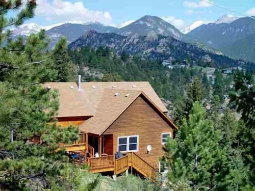 Estes Mountain Home, Panoramic Mountain & Lake Views, Private Location/hot Tub