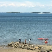 Waterfront Property. Off season discounts. Beach. Kayaks.Boston And Water Views.