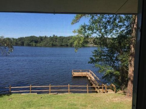 Check Expedia for Availability of Lake Cottage Near Fsu, Panama City, Fishing & Hiking & Biking With a Boat Dock