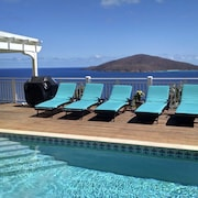 Views, Views, Caribbean, Bvi's, Lush Landscaping, Heated Pool, Gated Community