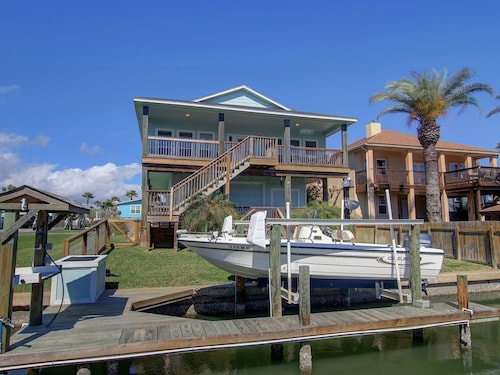 Check Expedia for Availability of Estes Flats Waterfront Oasis, Large Garage With Lounge and TV