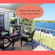 View The Most Amazing Sunrises From This Water Front Condo!