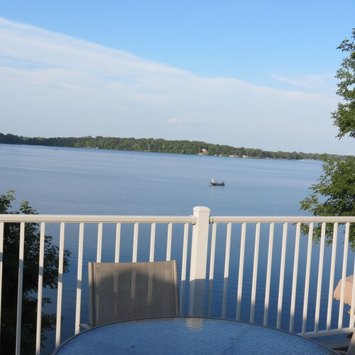 A Lake Stella Home With Pontoon. A Lake View YOU Will Love!