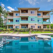 Ocean Front Unit Built 2005, Across From Kahaluu Beach, Fantastic Ocean Views!