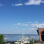 Wake To Lower Harbor Views - Condo In Downtown Marquette