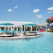 7miles to Disney/water Park/lazy River/arcade/bar/gym/golf/ac/games/wifi9br/6ba