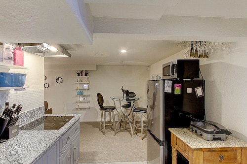 Great Place to stay Mod Basement Apt 420 Friendly Near Light Rail Central Location Close Downtown near Denver