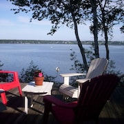 Waterfront Harpswell-orr's Island Cottage With Water Views, Dock and Float